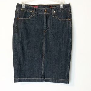 AG Adriano Goldschmied Jean Skirt The Precise